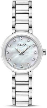 Bulova Modern Round Watch, 28mm $350 thestylecure.com