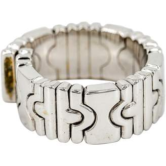 Bulgari Parentesi Silver White gold Ring