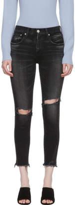 Moussy Vintage Black Comfort Fremont Skinny Jeans