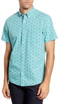 1901 Trim Fit Short Sleeve Button-Down Shirt
