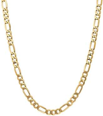 """Bloomingdale's 14K Yellow Gold 7mm Flat Figaro Chain Necklace, 24"""" - 100% Exclusive"""