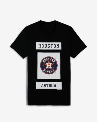 b0d416f047c97 Express Houston Astros Mlb Short Sleeve Graphic Tee