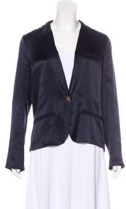 Lanvin Silk Long Sleeve Blouse