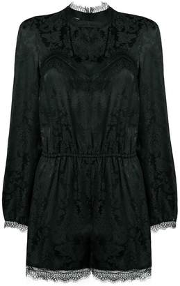 Pinko lace cut-out playsuit