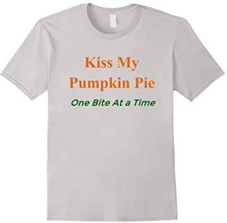Kiss My Pumpkin Pie Funny Thanksgiving Shirt