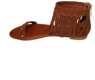 Bamboo Fringe Sandals $29 thestylecure.com