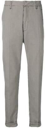 Bottega Veneta houndstooth patterned trousers