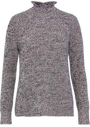 Joie Adaliz Marled Cotton And Cashmere-Blend Sweater
