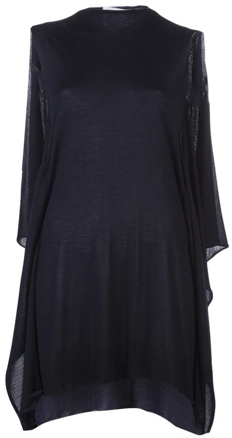 Jil Sander Draped knit dress