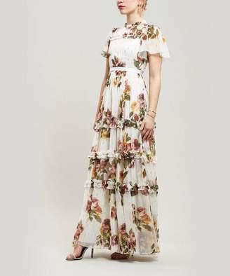 a992e5e763 Needle   Thread Venetian Metallic Rose Maxi-Dress