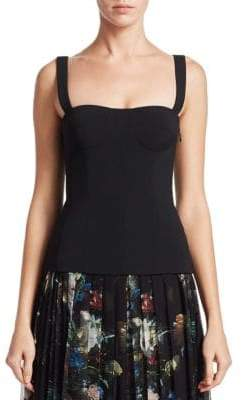 ADAM by Adam Lippes Stretch Bustier Tank