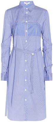 Tibi Stripe Shirt Dress