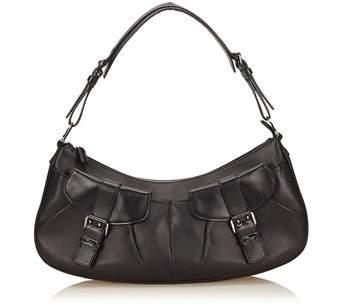 Dior Pre-owned: Leather Shoulder Bag.