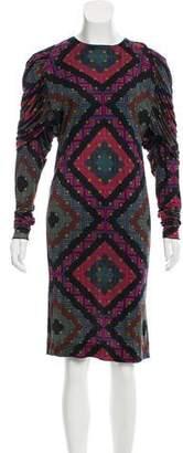Missoni Ruffled Dolman Dress