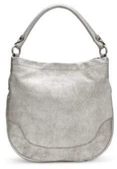 Frye Melissa Metallic Leather Hobo Bag
