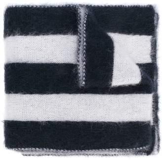 Golden Goose wide striped scarf