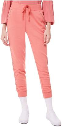 Juicy Couture Studded Heathered Terry Pant