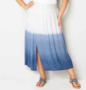 Avenue Dip Dye Maxi Skirt