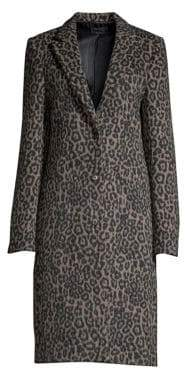 RtA Jamson Leopard Print Coat