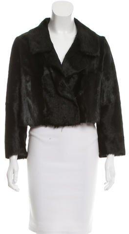 MarniMarni Cropped Fur Jacket