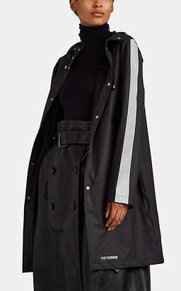 Stutterheim Raincoats Women's Falun Reflective-Trimmed Raincoat - Black