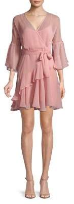 French Connection Hallie Crepe Fit-and-Flare Dress
