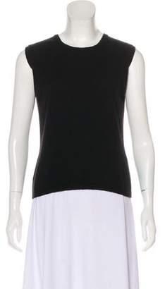 Burberry Cashmere Sleeveless Sweater