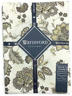 Waterford Everyday Elena Neutral Tablecloth - 70 Round