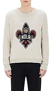 "The Elder Statesman X NBA X NBA MEN'S ""NOLA"" ALL-STAR WEEKEND CASHMERE SWEATER SIZE L"