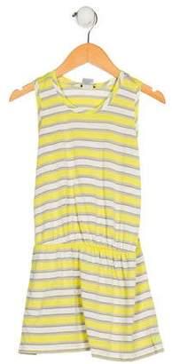 Little Marc Jacobs Girls' Striped Sleeveless Dress