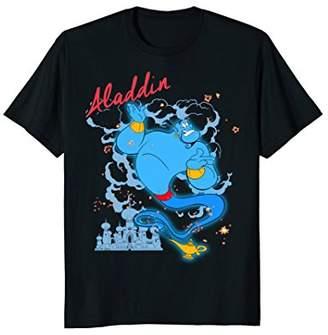 Disney Aladdin Genie Smoke & Sparkle Graphic T-Shirt