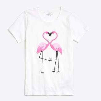 J.Crew Factory Flamingo collector T-shirt
