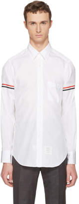 Thom Browne Off-White Classic Grosgrain Armband Shirt