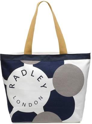 Radley Logo Large Canvas Zip-Top Tote