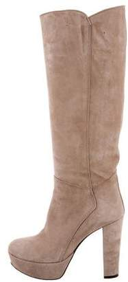 Carlo Pazolini Round-Toe Platform Knee-High Boots