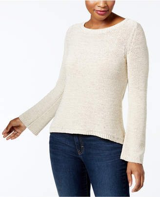 Style&Co. Style & Co Boat-Neck Sweater, Created for Macy's
