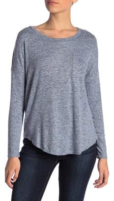Philosophy Apparel Long Sleeve Cozy Knit Top (Petite)