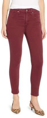 Caslon Sierra High Waist Ankle Skinny Pants (Petite)