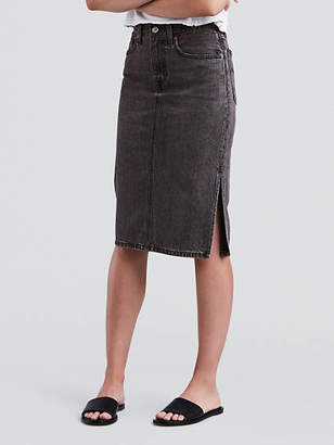 Levi's Side Slit Skirt