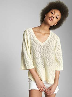 Gap Popover V-Neck Sweater