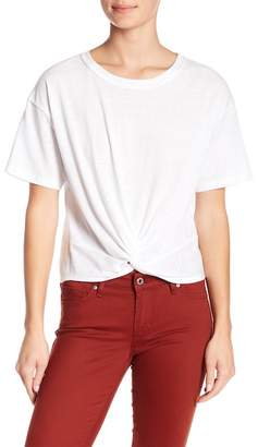 Socialite Knot Front Tee