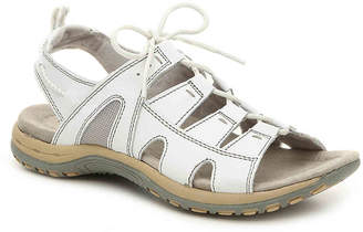 Women's Sassy Sport Sandal -White $79 thestylecure.com