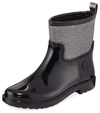 MICHAEL Michael Kors Blakely Glitter Metallic Rain Boots