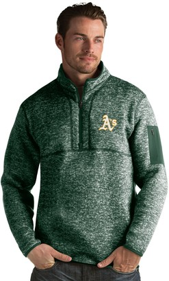 Antigua Men's Oakland Athletics Fortune Pullover