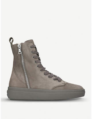REPRESENT CLOTHING The Alpha Sneaker Boot suede trainers