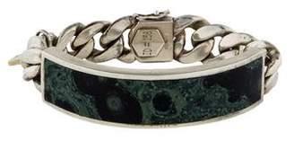 Ann Dexter-Jones Jasper ID Bracelet