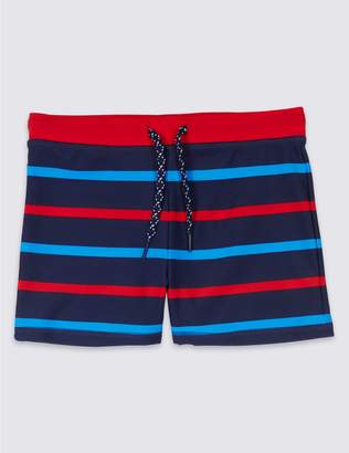 Marks and Spencer Striped Swim Shorts (3-16 Years)