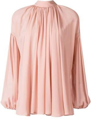 Stella McCartney long-sleeve flared blouse