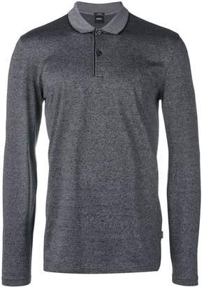 HUGO BOSS long-sleeved polo shirt