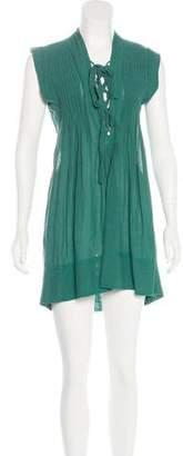 Etoile Isabel Marant Lace-Up Mini Dress